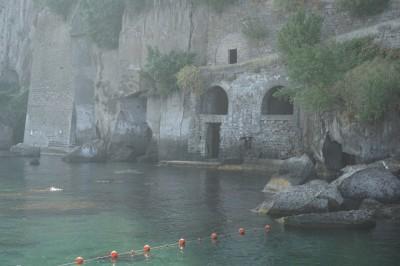 The beautiful coast of Sorrento, Italy