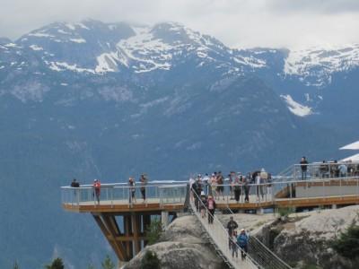 Squamish Bc Gondola Ride