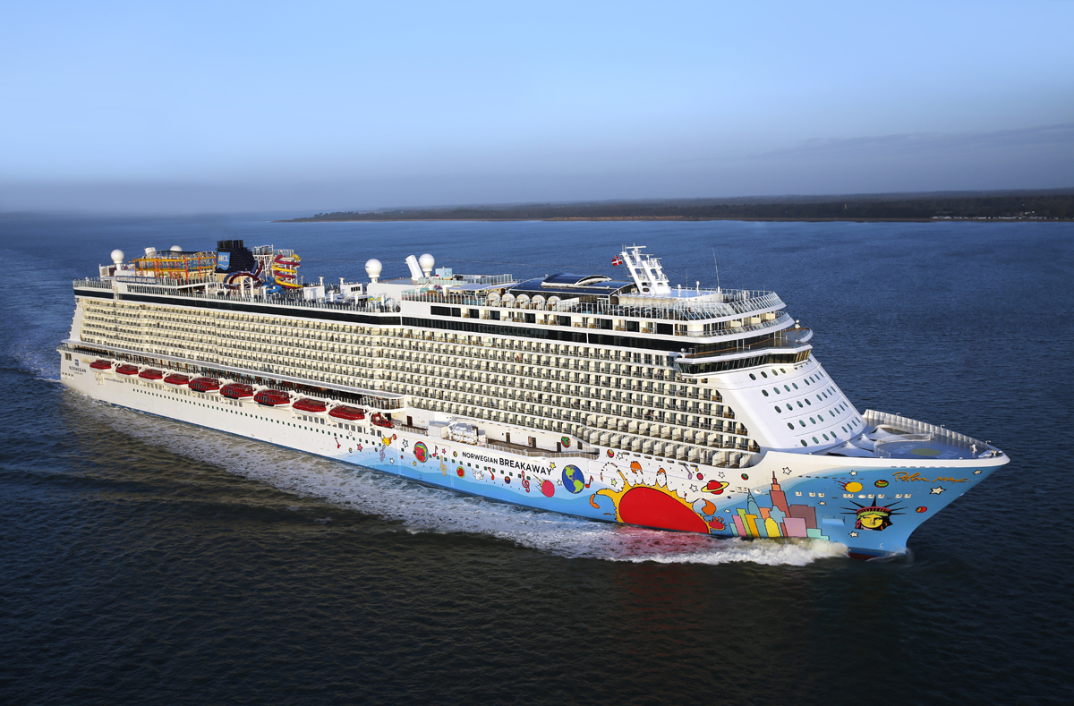 NCL Breakaway to sail from NOLA