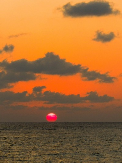Sunset in Varadero