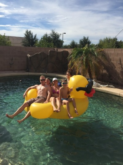 Rubber Ducky you're the one you make pool time so much fun! #arizona