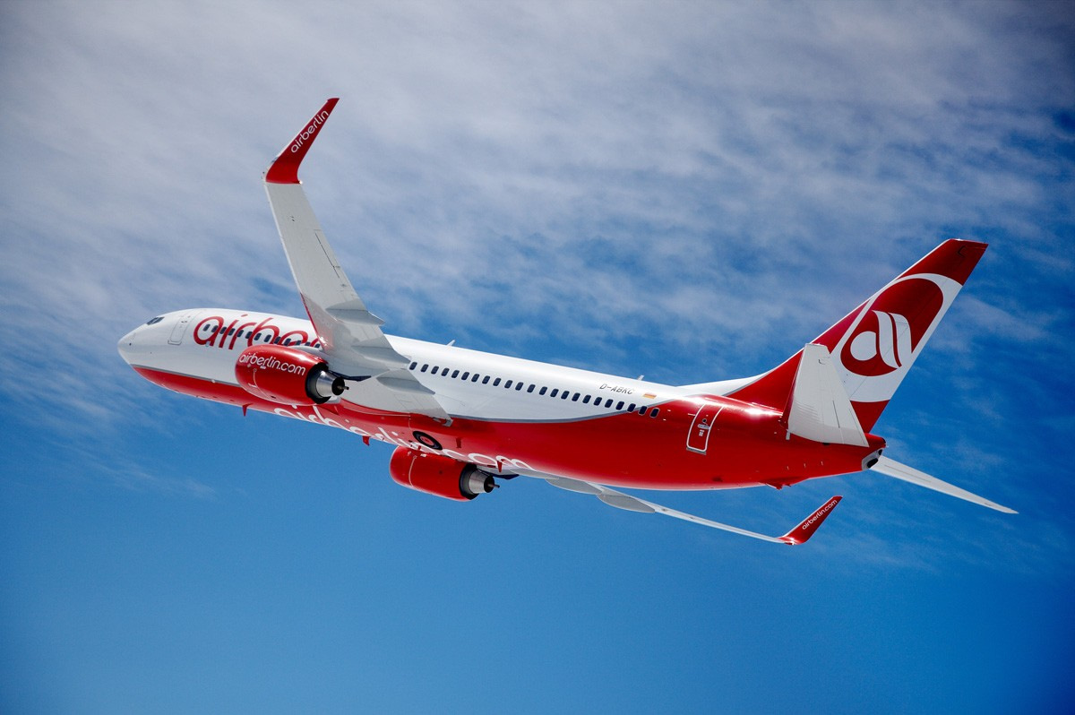 Air Berlin cancels flights as of Oct. 28