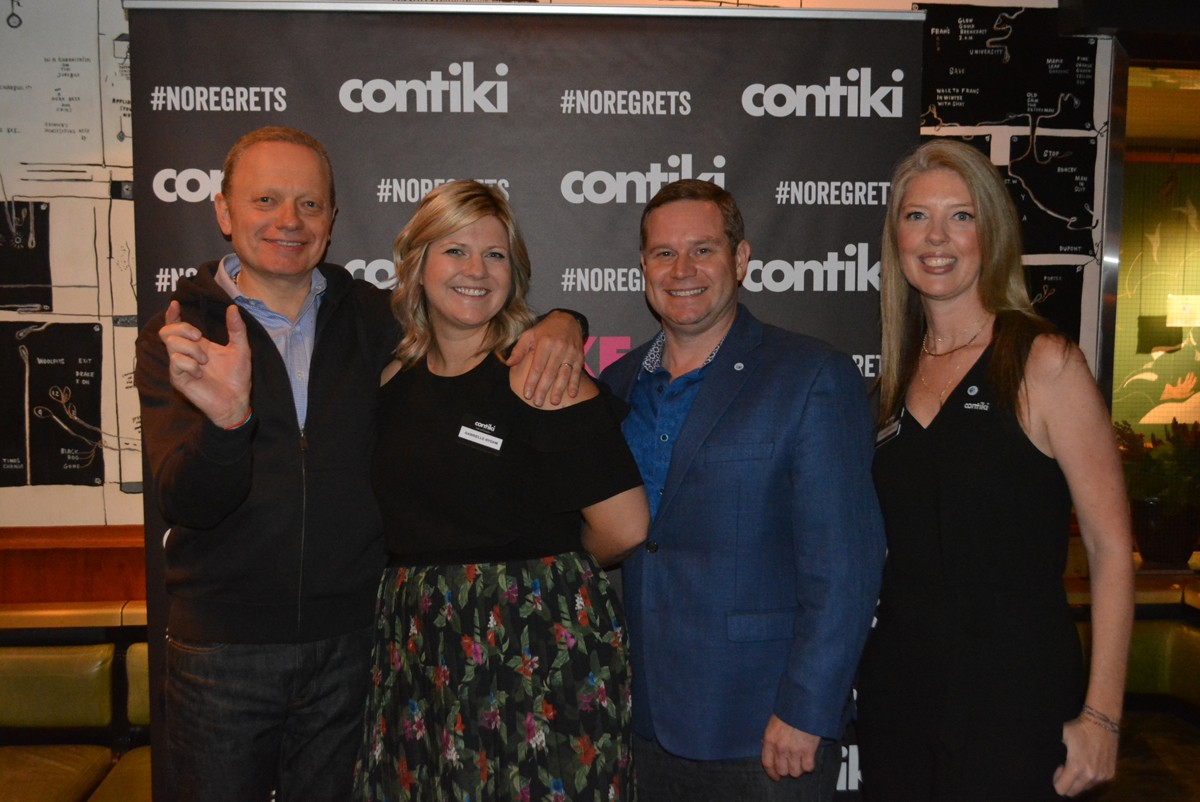 Contiki toasts its new travel style