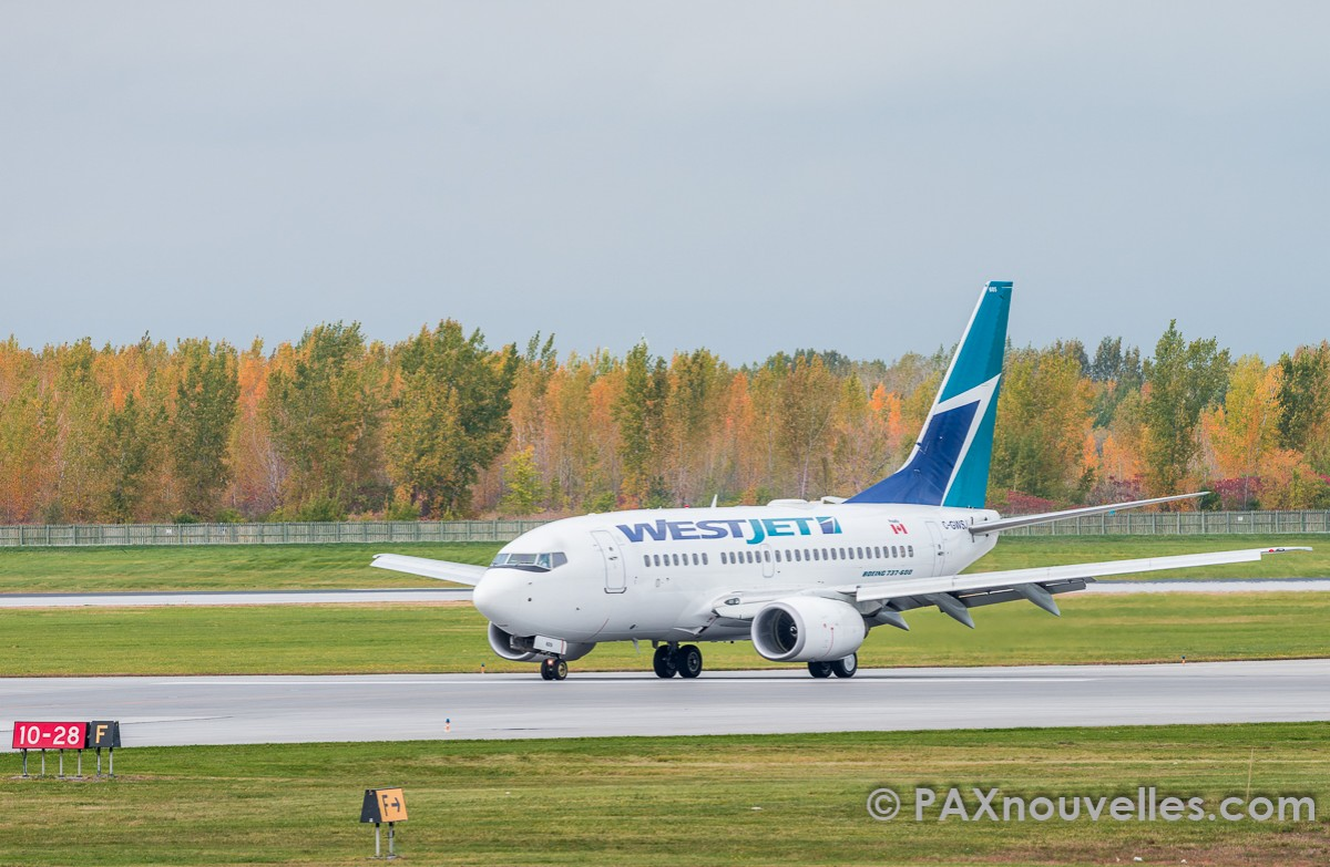 Record month for WestJet
