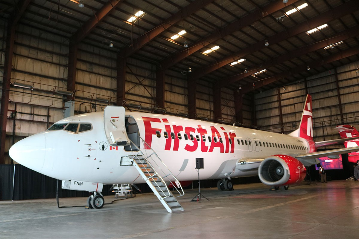 A new look for First Air
