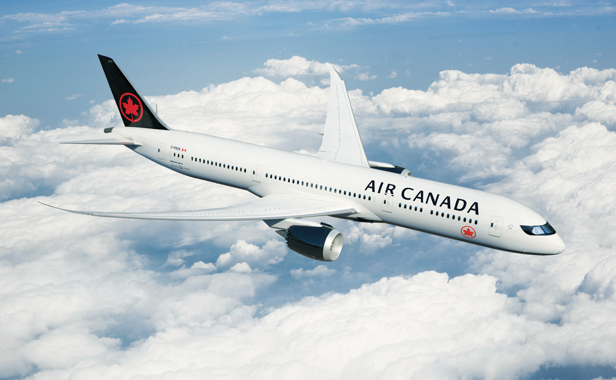 Record Q3 for Air Canada