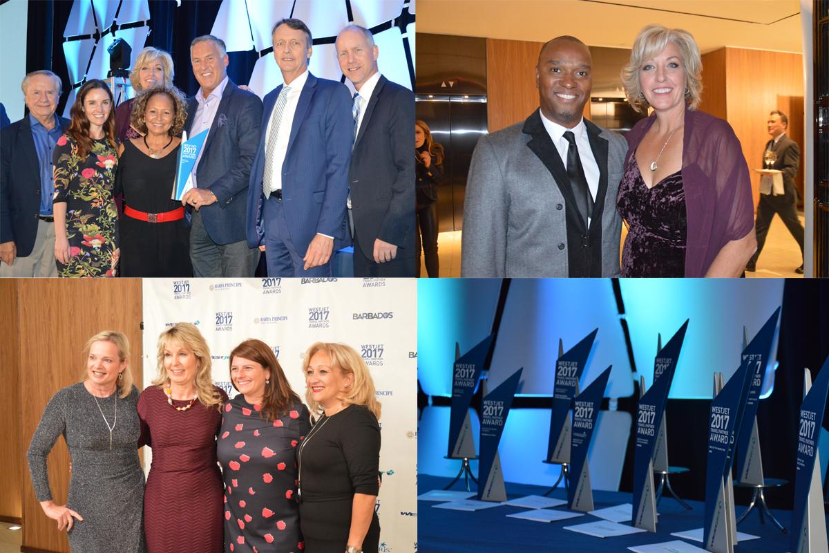 WestJet honours top travel partners in Toronto