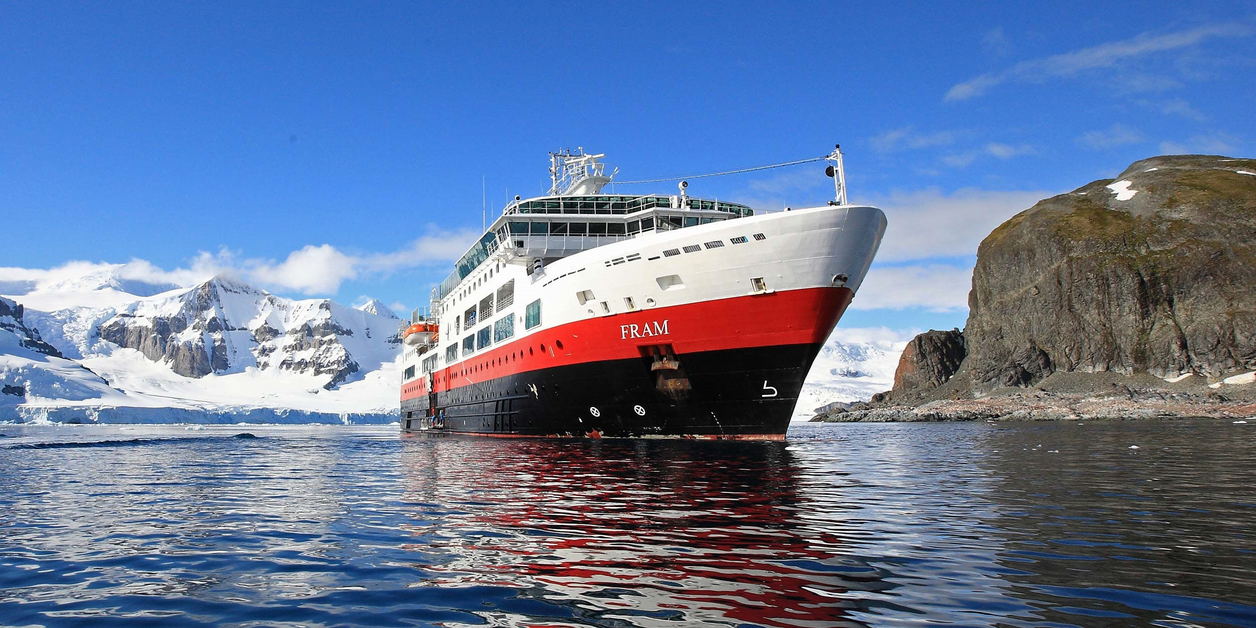 Agents can tour the MS Fram with GLP
