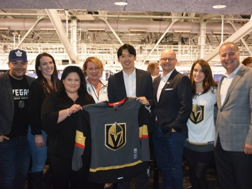 Vegas Golden Knights hit the ice in Toronto