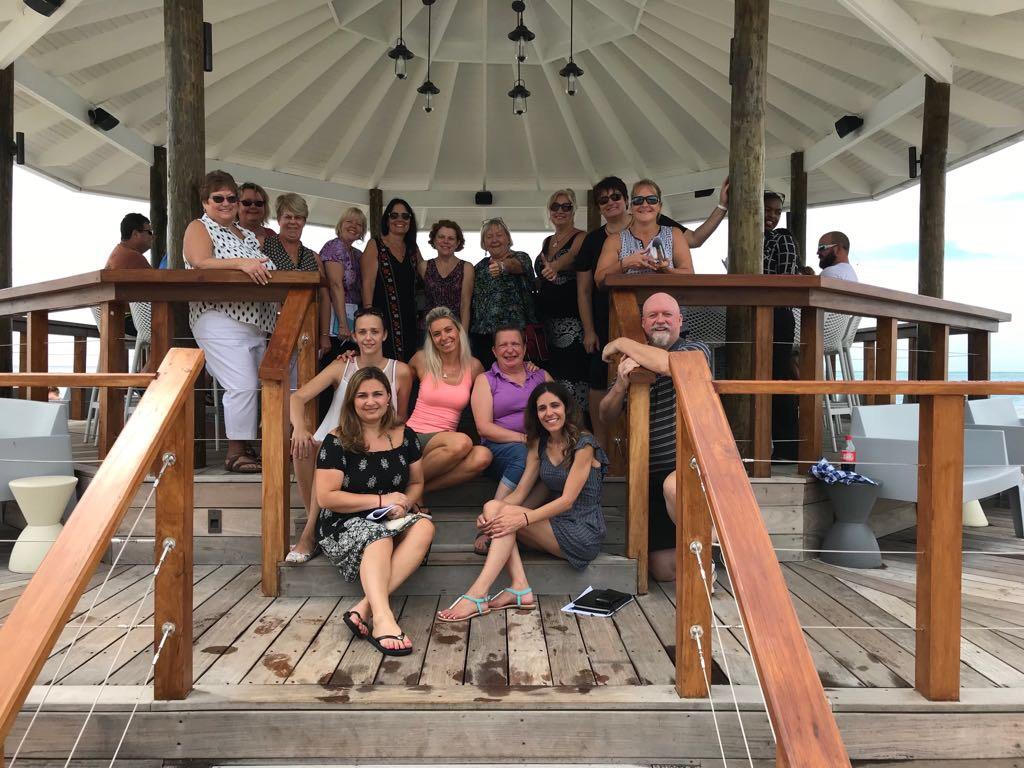 Sandals hosts Ontario agents in Jamaica