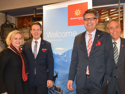 Switzerland Tourism's Prinz makes Canadian debut