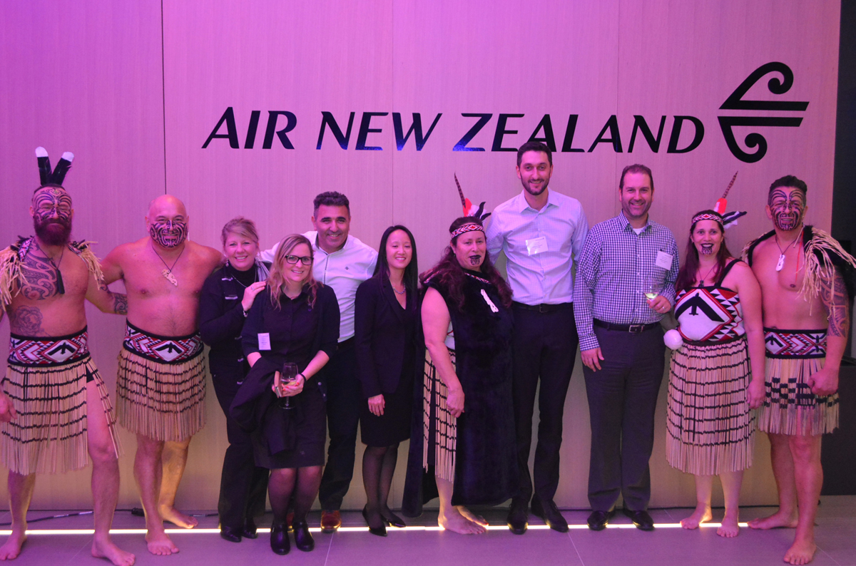 Air New Zealand toasts 10th anniversary in Canada