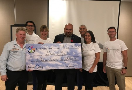Travel Agents Care raise more than $6,700 for Global Medic