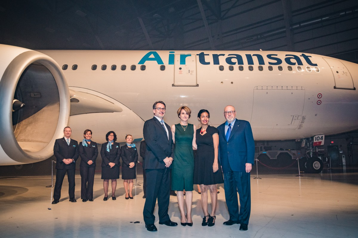 Transat marks 30 years with new livery & hotel group