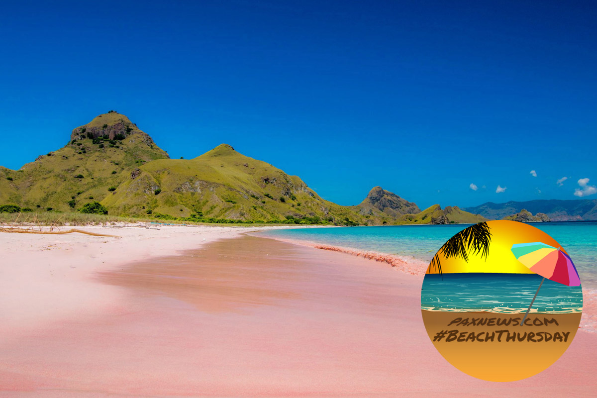 #BeachThursday: these 10 coloured beaches are totally natural