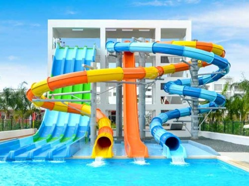 Cool down at Riu Republica's adults-only waterpark