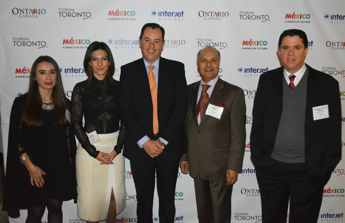 Interjet toasts Canadian routes in Toronto