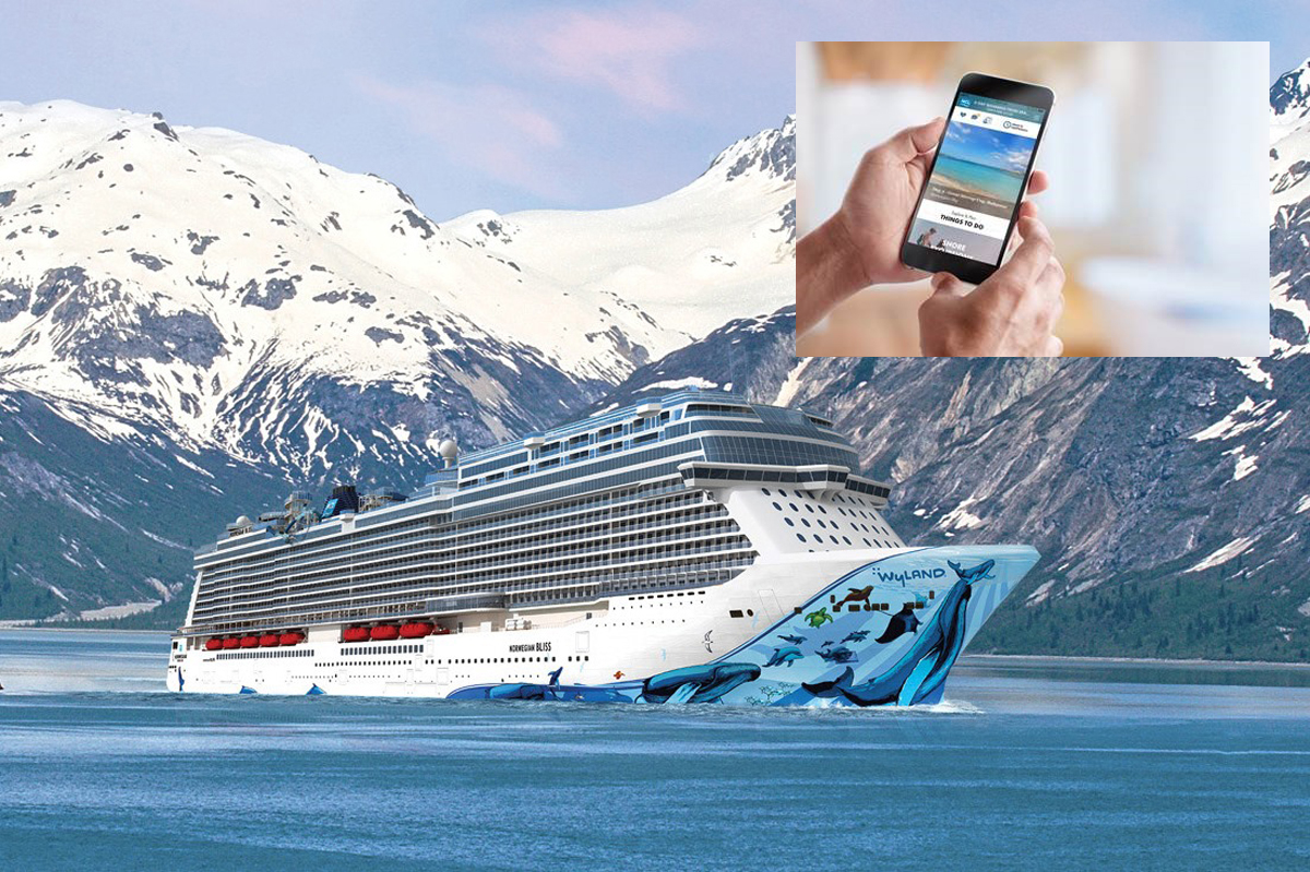 NCL's latest app sets sail