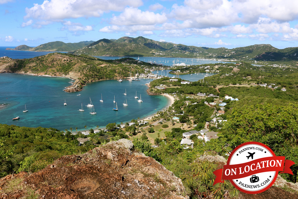PAX explores Antigua with Sunwing