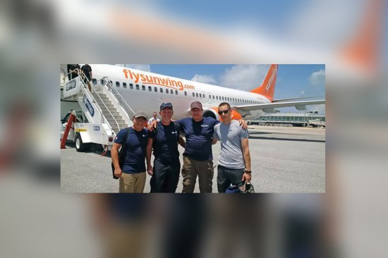 Sunwing Foundation lends a hand to GlobalMedic