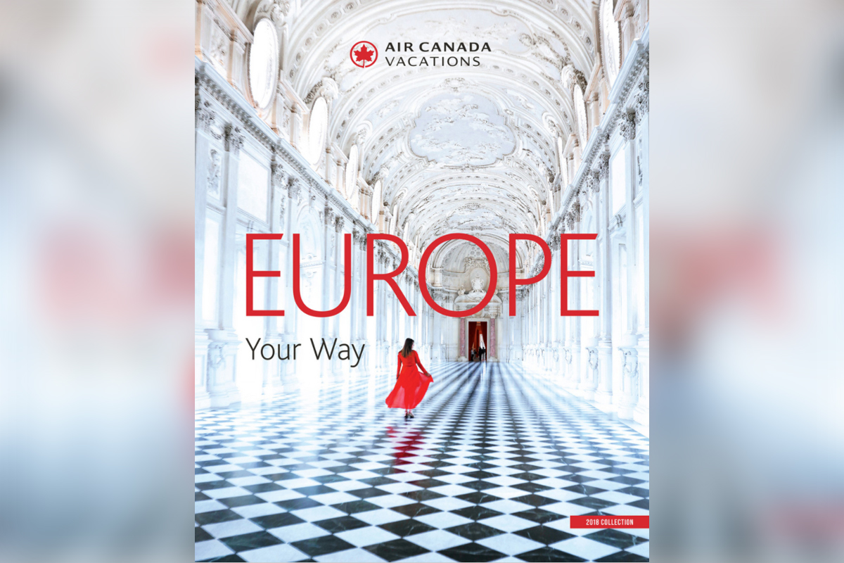 New tours & categories in ACV's Europe Your Way brochure