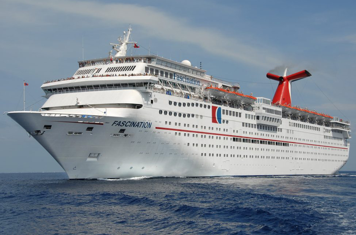 Carnival Fascination to undergo dry dock