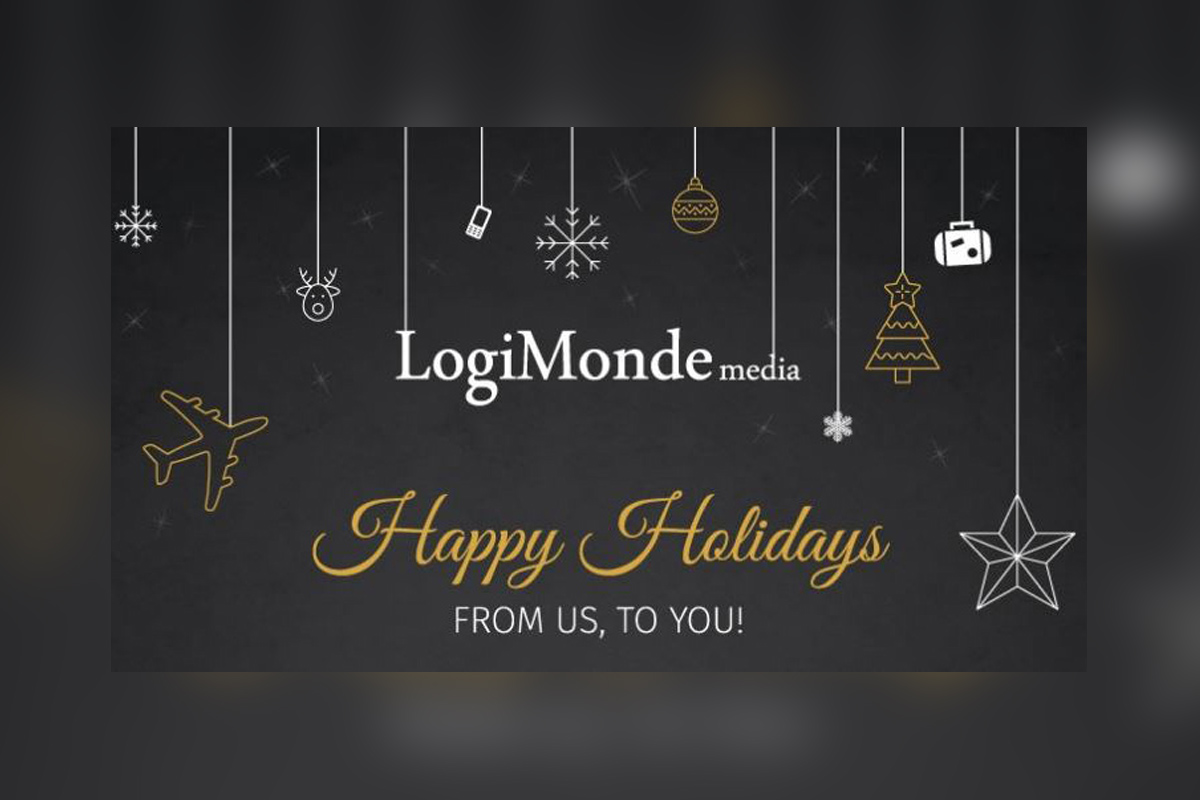 Happy holidays from the LogiMonde media team!
