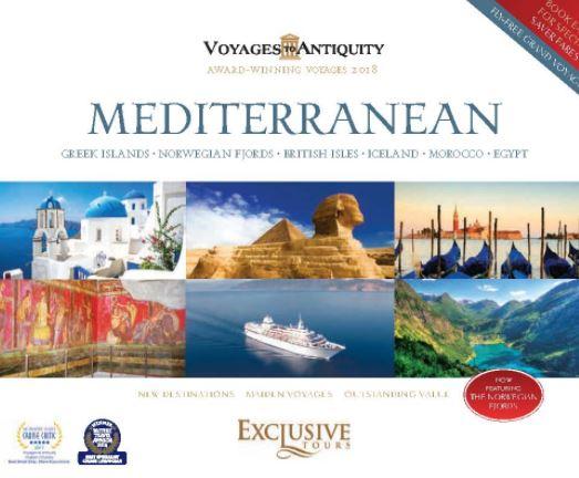 Voyages to Antiquity 2018 Mediterranean