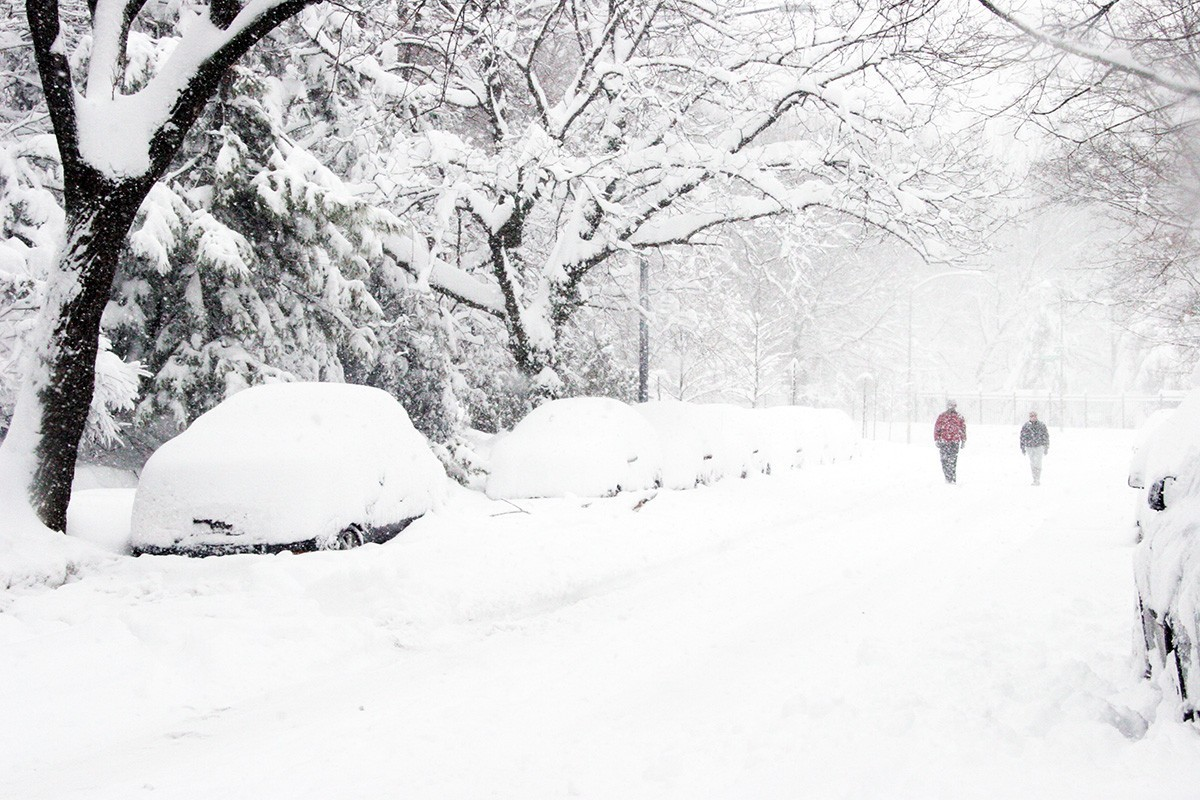 Winter weather causing travel chaos in eastern U.S.