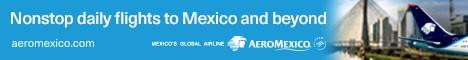 Aeromexico - Standard banner - Jan 5