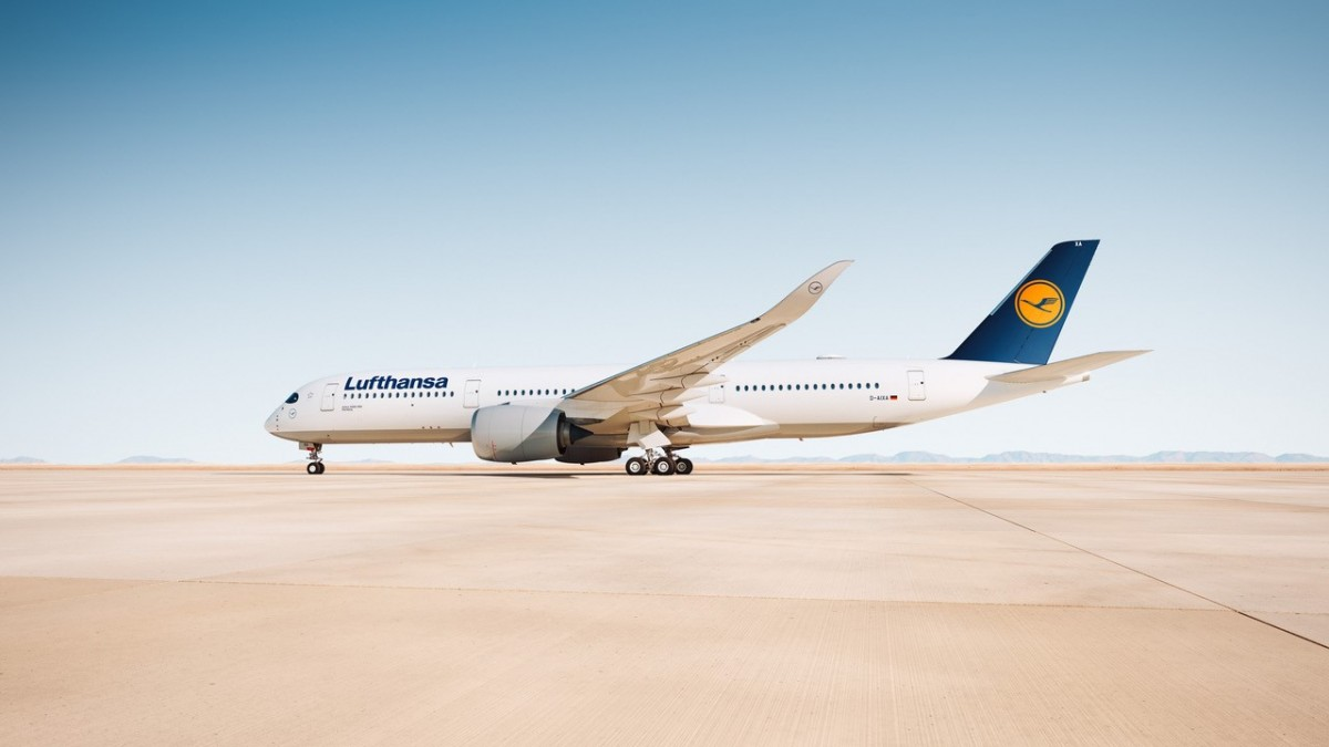 Lufthansa's new A350 to fly YVR-MUN route