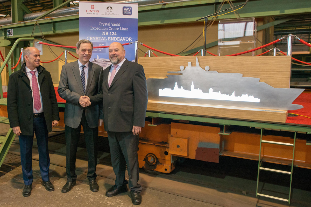 Crystal embarks on a new Endeavor with steel cutting