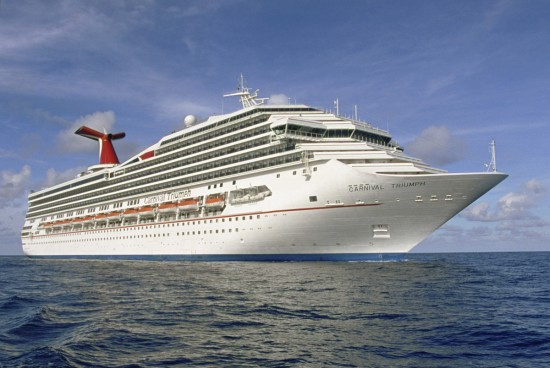 Carnival unveils 2019-20 Triumph itineraries