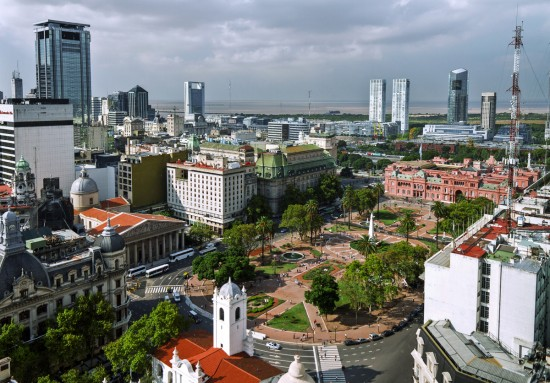 Buenos Aires arrivals on the rise in 2017