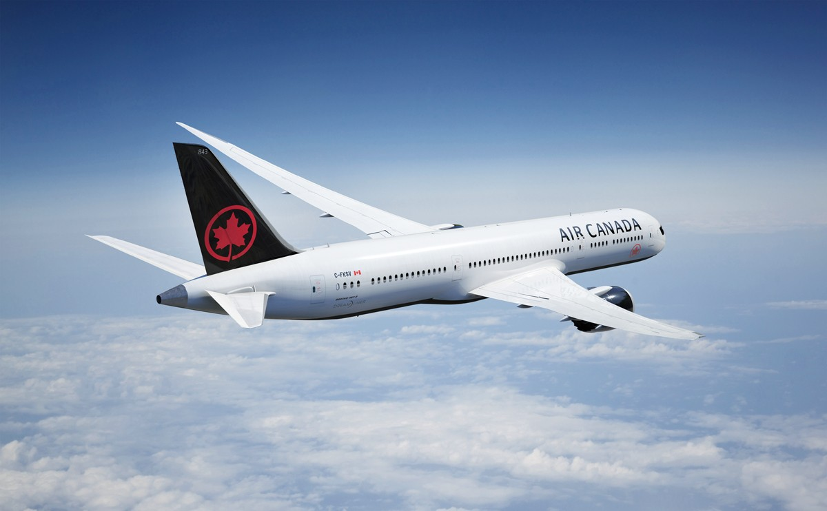 Air Canada's sustainability efforts recognized with international award