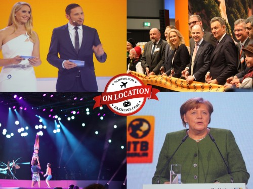"""""""Tourism thrives on openness to the world"""": Merkel opens ITB Berlin"""