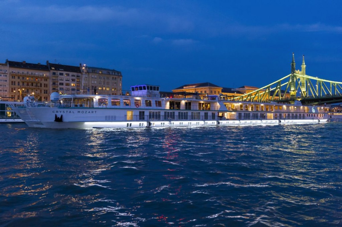 Explore Europe's waterways with Crystal's River Cruise Atlas