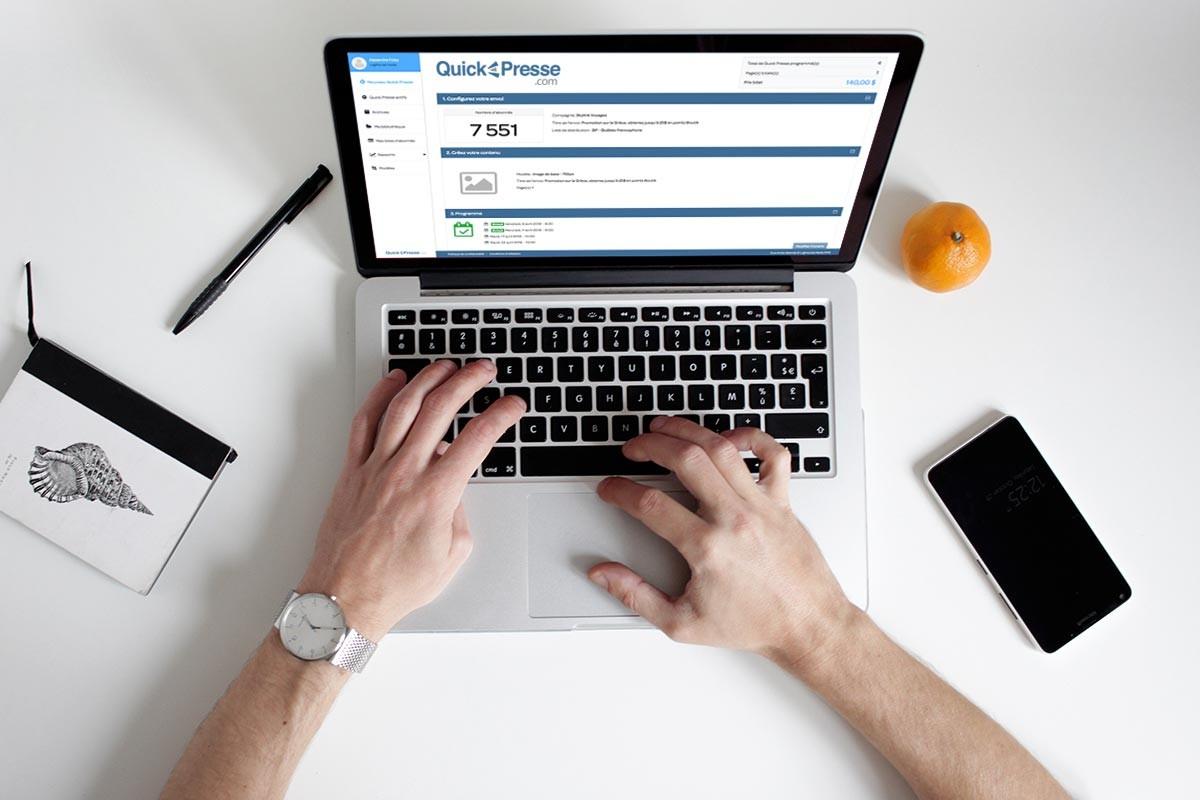 New features added to LogiMonde's popular Quick Presse eblast service