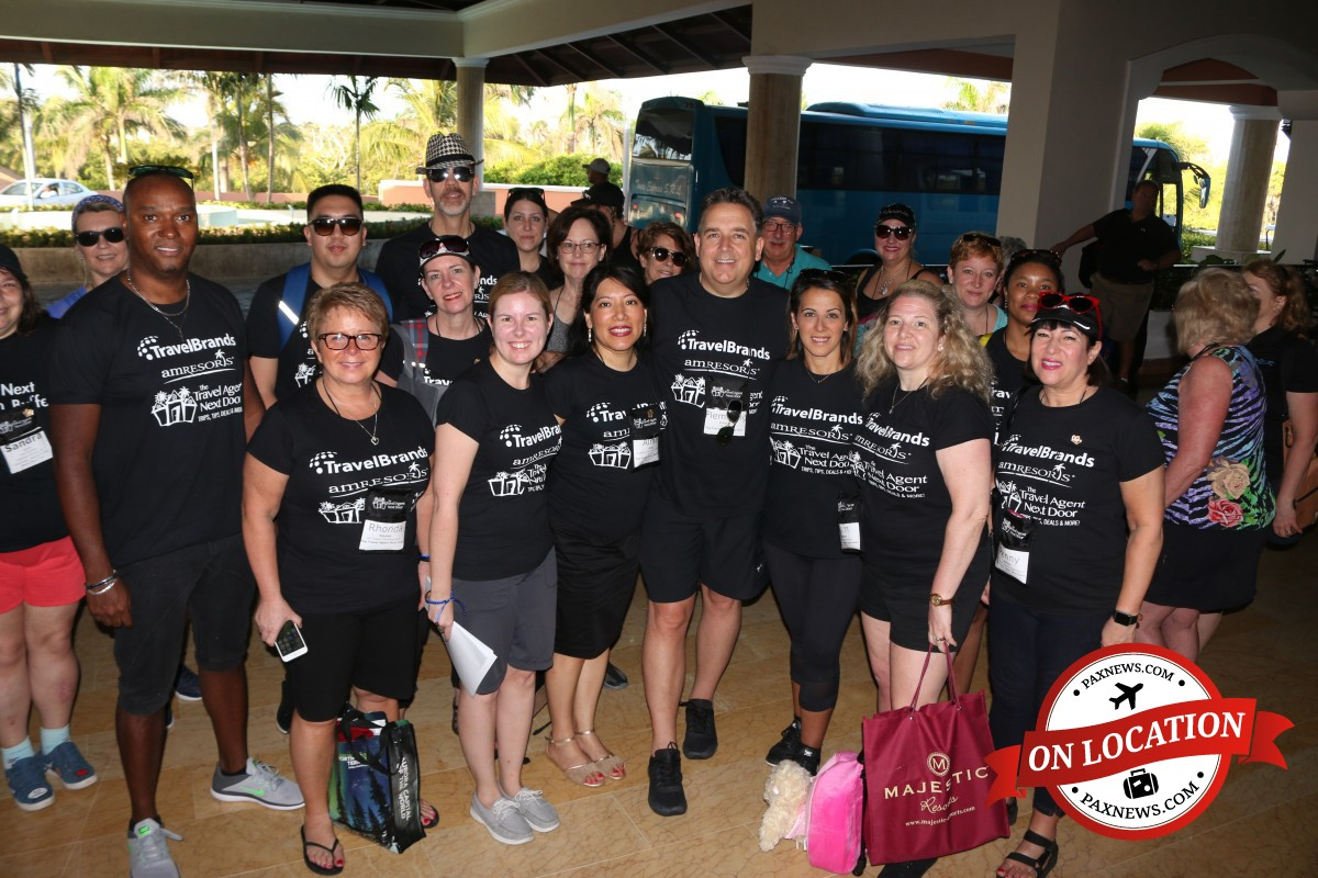 TTAND, AMResorts, & TravelBrands lend a hand in La Romana