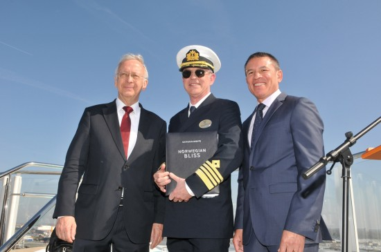 NCL takes delivery of Bliss