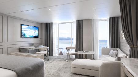 Here's a sneak peek at Crystal Endeavor's luxury suites