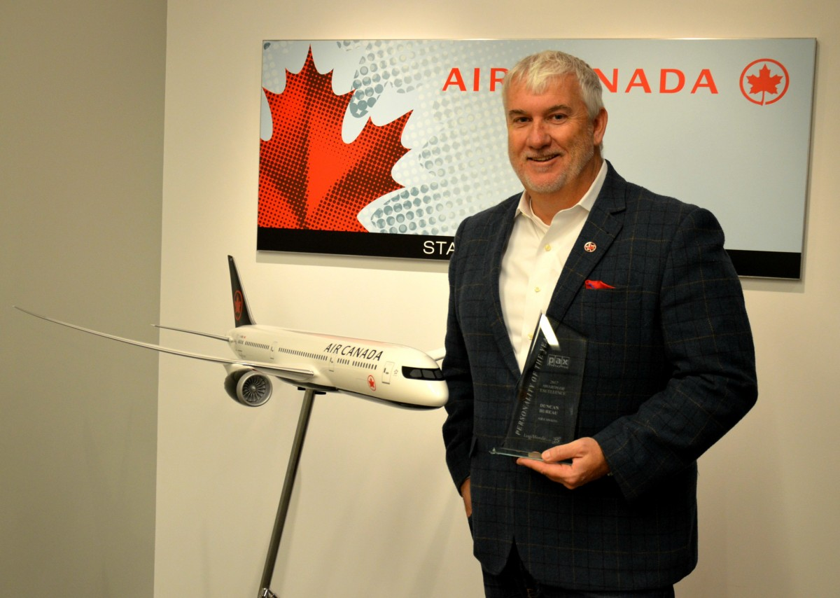 """Air Canada's Duncan Bureau: """"Why I'm ready for Rouge"""""""