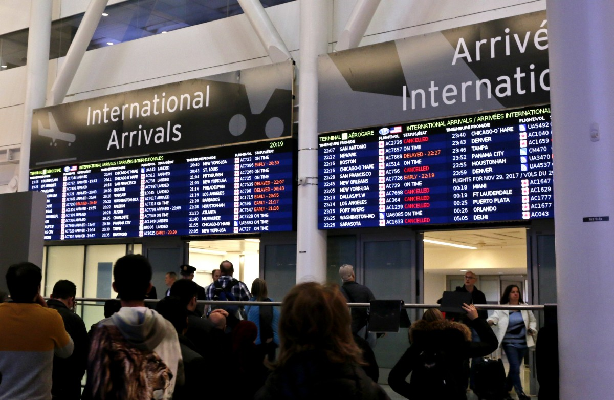 TPH warns of potential measles exposure at YYZ