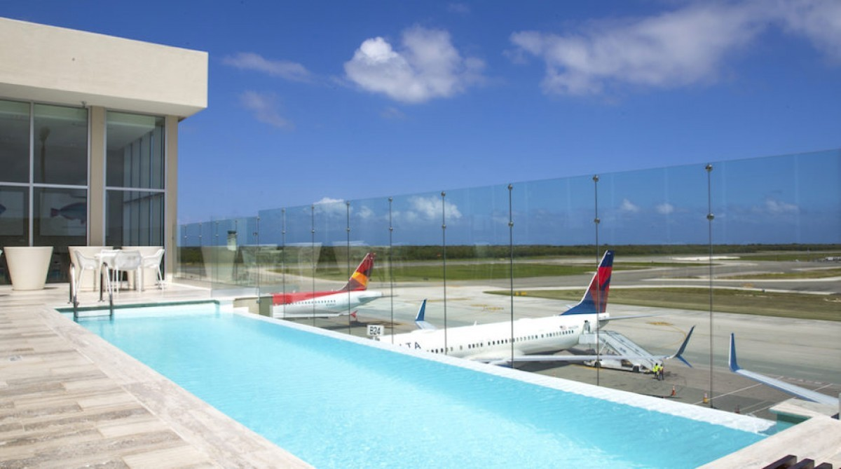 Punta Cana's VIP airport lounge gets a pool