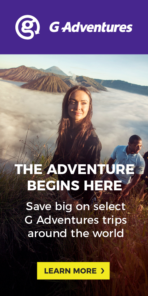G Adventures - May 16
