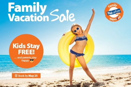 Summer savings from Sunwing means great deals for families
