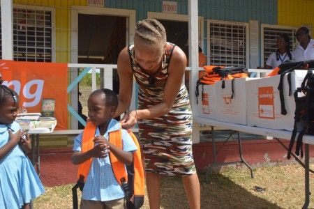 Sunwing's Flying Start initiative sends 250 backpacks to Jamaican schools