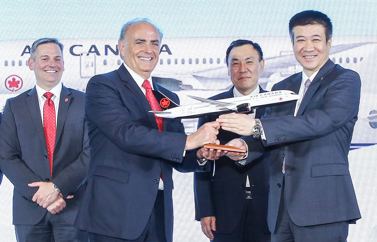 Air Canada & Air China strengthen ties with historic joint venture