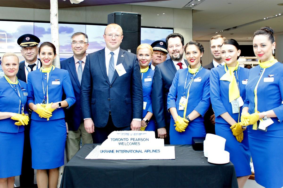 UIA brings Ukraine to Toronto with new direct flights from Kiev