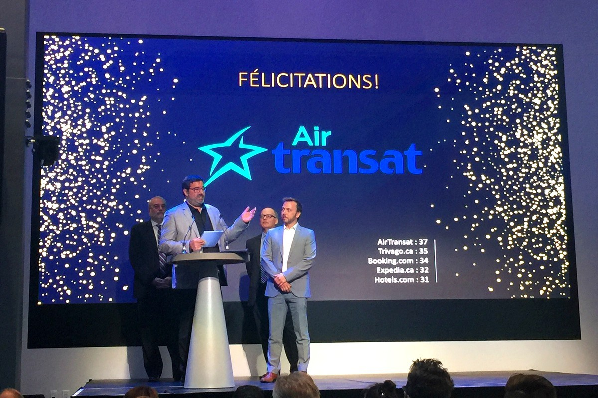 Air Transat recognized for providing outstanding customer experiences